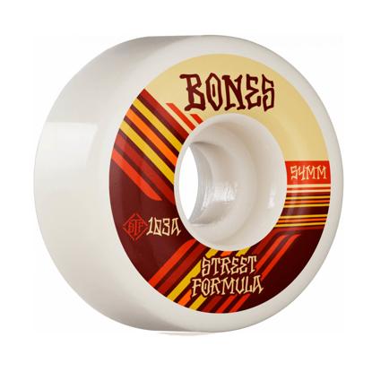 BONES RETROS 54 V4 WIDE STF 103A WHITE 54MM