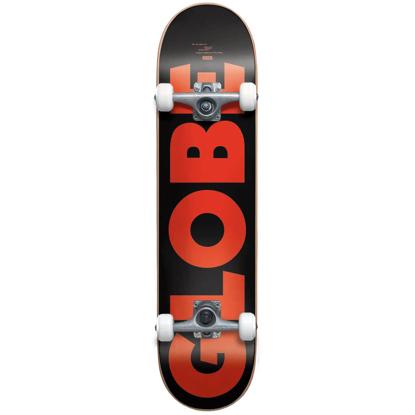 "GLOBE G0 FUBAR 7.75 COMPLETE BLACK/RED 7.75"""