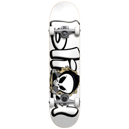 """BLIND BUST OUT REAPER FP SOFT WHEELS 7.625"""" COMPLETE WHITE 7.625"""""""