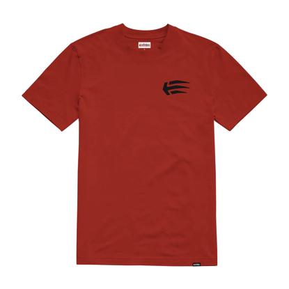 ETNIES JOSLIN T-SHIRT RED/BLACK M