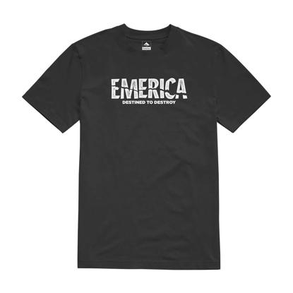 EMERICA PSYCHO T-SHIRT BLACK L