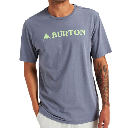 BURTON HORIZONTAL MTN T-SHIRT FOLKSTONE GRAY S