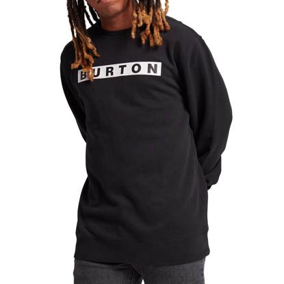 BURTON VAULT CREW TRUE BLACK L