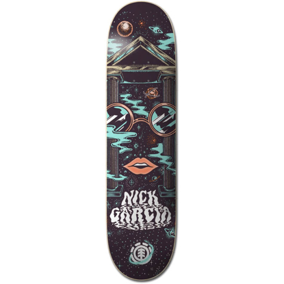 """ELEMENT SPACE CASE NIC 8.38"""" DECK ASSORTED 8.38"""""""