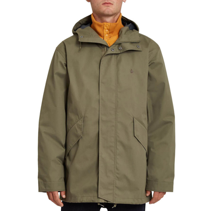 VOLCOM SHADOWPLAY 5K 3IN1 ARMY GREEN COMBO L